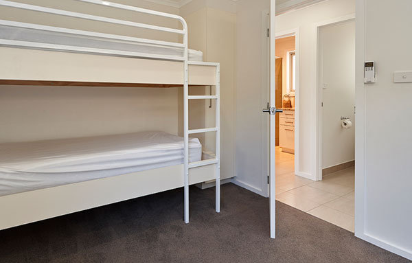 launcestonaccommodation-cityviewvillas-bunk